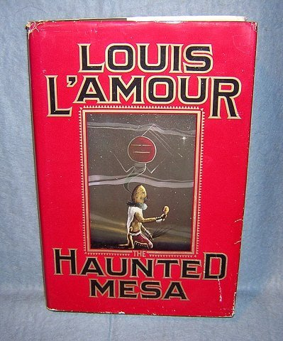 Haunted Mesa by Louis L'Amour HB DJ 1st Bantam AL1080