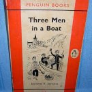 Three Men in a Boat Jerome K Jerome Penguin edition 1959 AL1123