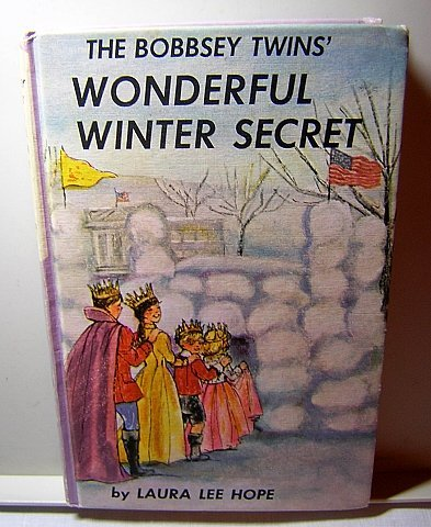 Bobbsey Twins' Wonderful Winter Secret Laura Lee Hope vintage copy AL1190