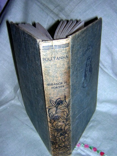 Pollyanna The Glad Book Eleanor H Porter 1st in series 1946 HB AL1219