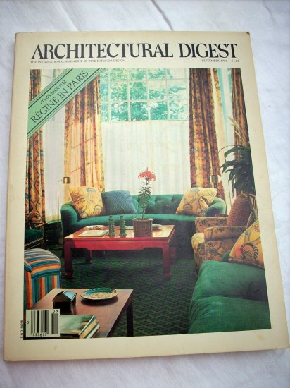 Architectural Digest magazine Newport Cottage, Marbella September 1981 AL1260