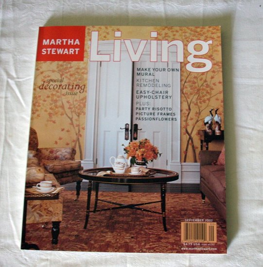 Martha Stewart Living magazine February 2002 decorating issue AL1267