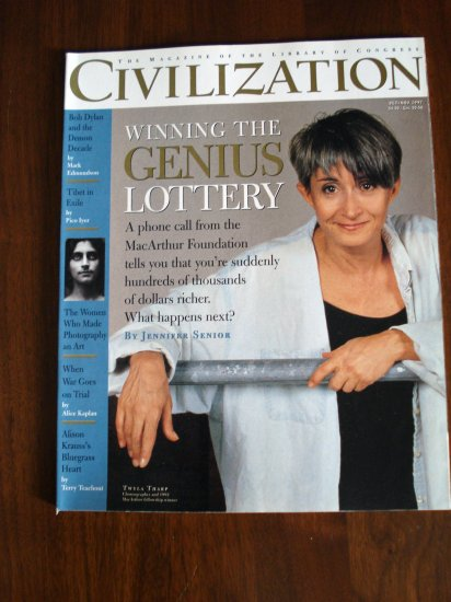 Civilization the Magazine of the Library of Congress Oct Nov 1997 Al1287