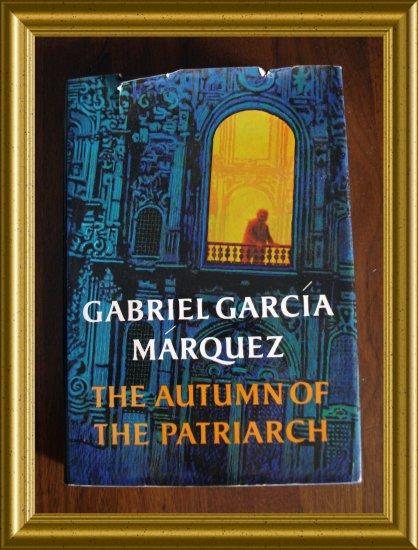 Gabriel Garcia Marquez The Autumn of the Patriarch hb dj AL1291
