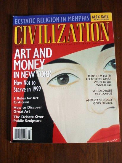 Civilization the Magazine of the Library of Congress Feb Mar 1999  AL1297