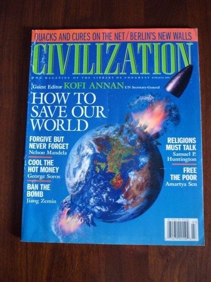 Civilization the Magazine of the Library of Congress June July 1999 AL1284