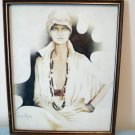 Lisa by Sara Moon 1976 framed print original signature rare print AL1296