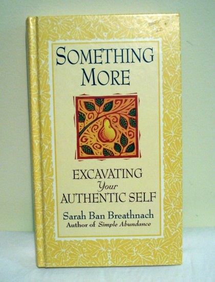 Something More Sarah Ban Breathnach HB 1st ed AL1335