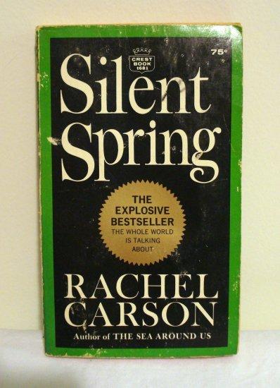 Silent Spring Rachel Carson Crest PB 1962 printing AL1341