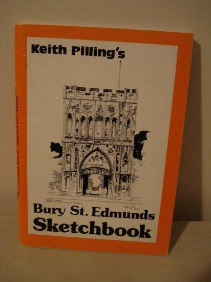 Keith Pilling's Bury St. Edmunds Sketchbook 1984 signed AL1352