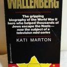 Wallenberg by Kati Marton PB 1985 WWII history used book AL1366