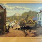 Maurice Bishop signed framed print Dunster England AL1386