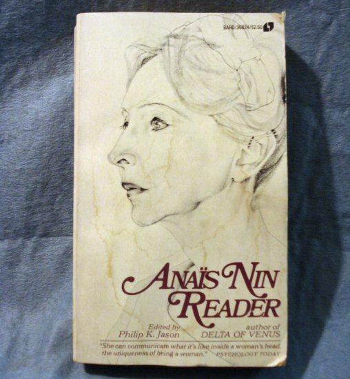 Anais Nin Reader ed Philip K Jason 1974 used PB good condition AL1402