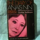 The Diary of Anais Nin Volume 1, 1931-1934 Stuhlmann editor PB AL1417
