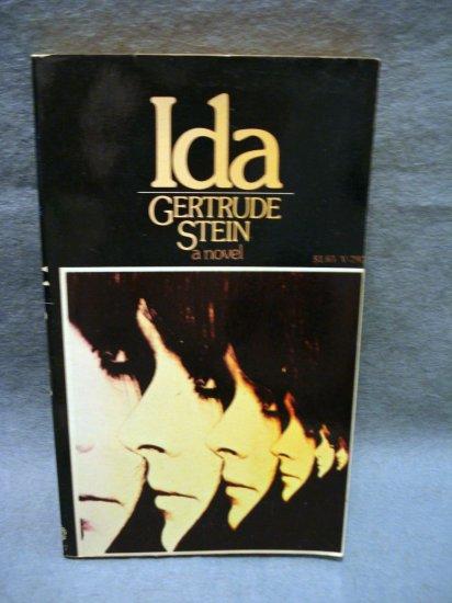 Ida by Gertrude Stein a novel 1972 pb near fine vintage books fiction AL1454