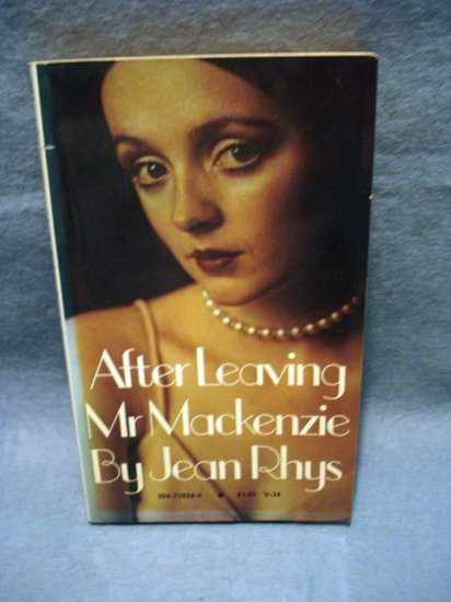 Ater Leaving Mr Mackenzie Jean Rhys PB 1st Vintage fiction vintage books AL1459