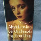Ater Leaving Mr Mackenzie Jean Rhys PB 1st Vintage fiction vintage books AL1459