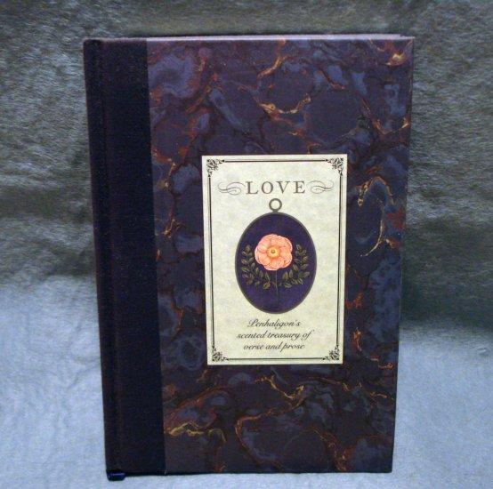 Love Penhaligon's scented treasury of verse and prose gift book AL1483