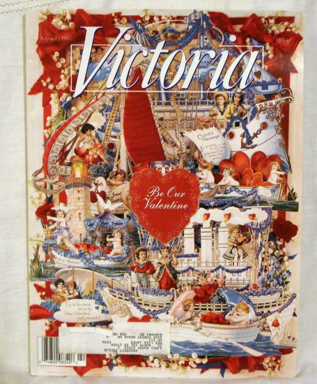 Victoria magazine back issue February 1995 Valentines issue AL1528