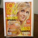 Lou Lou Canada's Shopping Magazine July 2007 summer finds beach hair AL1575