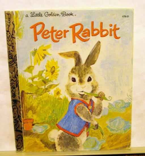 Peter Rabbit A Little Golden Book vintage edition  AL1589