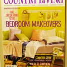 Country Living May 2001 back issue magazine Bedroom makeovers AL1615