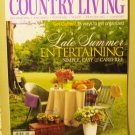 Country Living September 2002 back issue magazine Summer entertaining AL1616