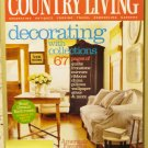 Country Living April 2005 back issue magazine decorating with collections AL1621