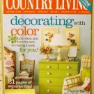 Country Living July 2005 back issue magazine decorating with color AL1624