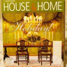 Canadian House and Home November 2002 back issue magazine Holidays AL1649