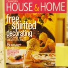 Canadian House and Home June 2003 back issue magazine Free spirited decor Summerizing homes AL1658