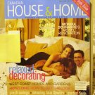 Canadian House and Home May 2003 back issue magazine relaxed decorating hotel chic AL1664