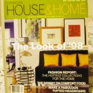 Canadian House and Home Dec Jan 97-98 back issue magazine The Look of 98 AL1667