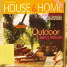 Canadian House and Home May 2004 back issue magazine Outdoor living Martha Sturdy AL1668