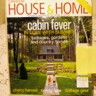 Canadian House and Home Summer 2002 back issue magazine Cabin fever cherries ceiling fans AL1670