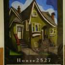 House 2527 by Martin Machacek open edition poster unused unframed AL1735