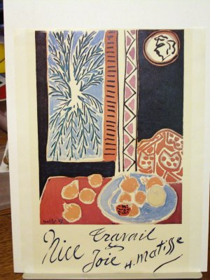 1950 Henri Matisse lithograph Nice Travail et Joie Work and Play interior AL1734