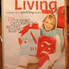 Martha Stewart Living magazine December 2009 best holiday decor recipes gifts AL1780
