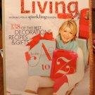 Martha Stewart Living magazine December 2009 best holiday decor recipes gifts AL1780