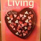 Martha Stewart Living magazine February 2010 chocolate hearts roses AL1781