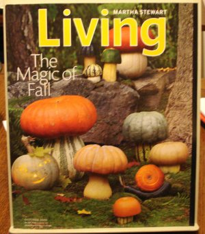 Martha Stewart Living magazine October 2009  The Magic of Fall AL1783