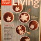 Martha Stewart Living magazine December 2003 Christmas Hanukkah hors d'oeuvres AL1790