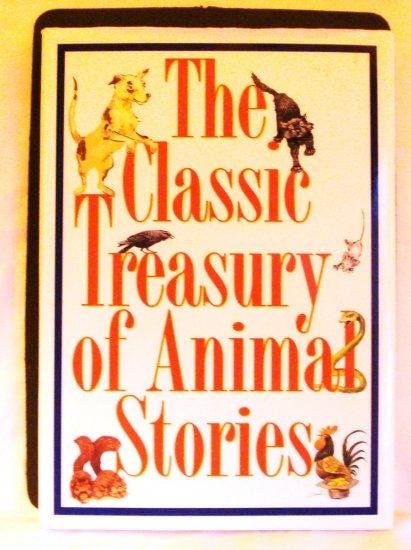 The Classic Treasury of Animals Stories 1997 Key Porter Books 1st HB DJ AL1817