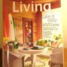 Martha Stewart Living magazine June 2009 beach house grilling sea crafts AL1841