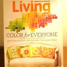 Martha Stewart Living magazine Color for Everyone May 2010  AL1854