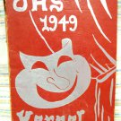 OHS Kernel Oxford Pennsylvania High school yearbook 1949 original  AL1501