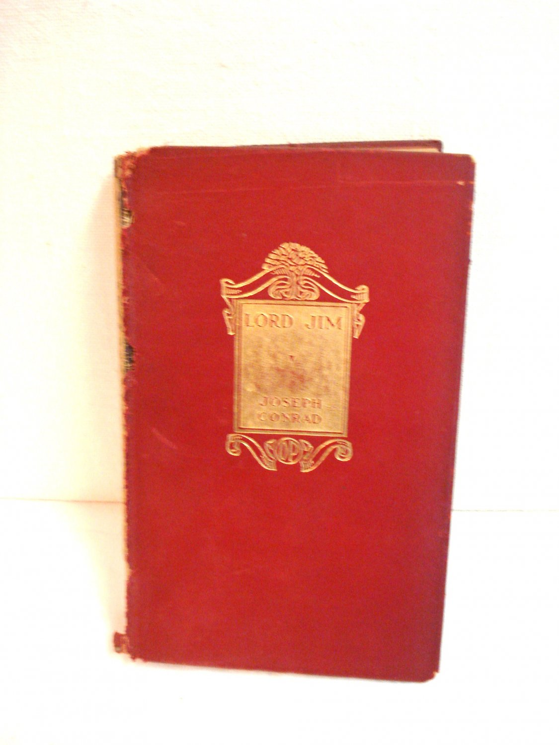 Lord Jim A Romance Joseph Conrad Doubleday Page 1922 red leather HB  AL1508