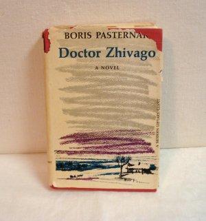 Doctor Zhivago Boris Pasternak HB DJ Modern Library Books AL1509