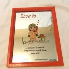 Kim Love is Someone he can call long distance...framed picture 1970 AL1524