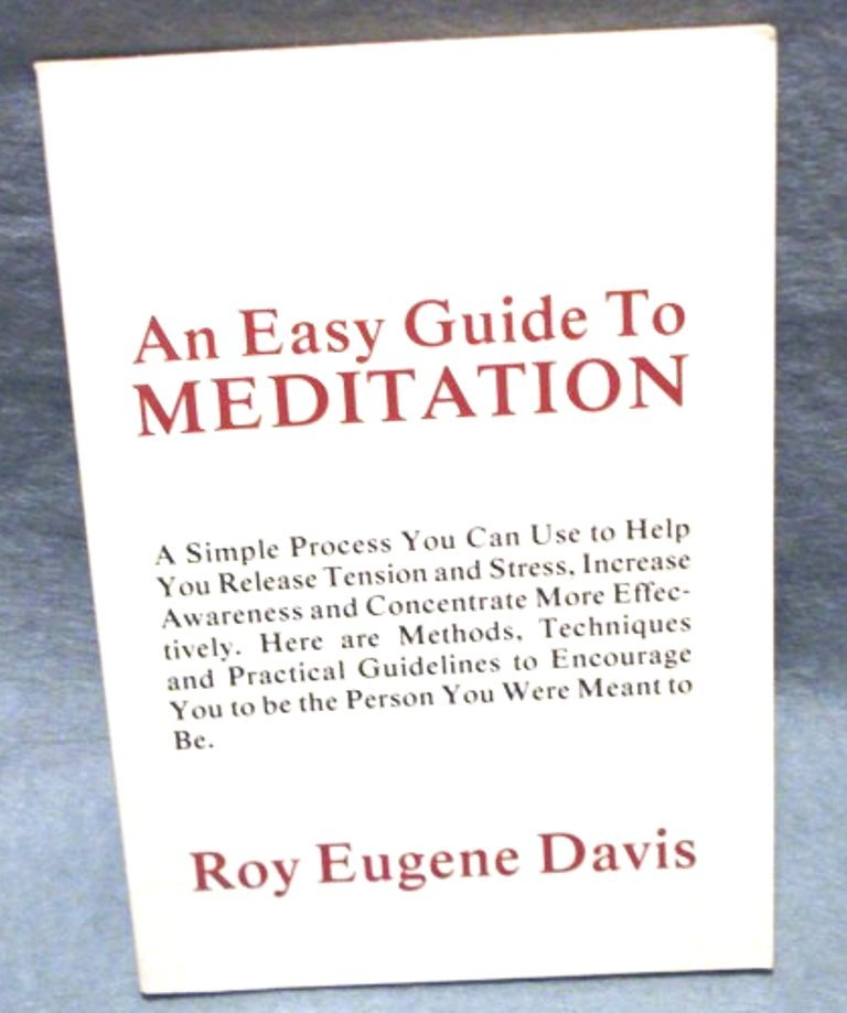 An Easy Guide to Meditation Roy Eugene Davis booklet inspirational books AL1482